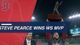 Steve Pearce wins 2018 World Series MVP