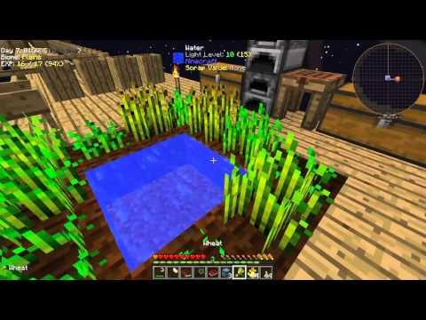 """Minecraft HQM """"Project Ozone"""" #4 - Piec z Tinkers"""