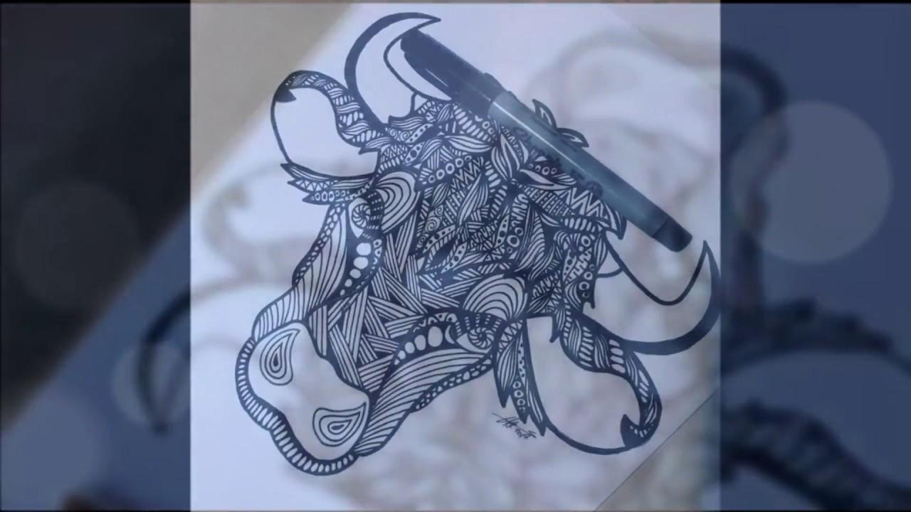 Como Dibujar Animales Con Zentangle Paso A Paso How To Draw