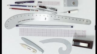 My Drafting Tools - Fashion Pattern making