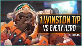 1 WINSTON TIP vs EVERY HERO ft. Bogur47 (2020)