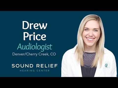 Drew Price, Audiologist, Denver / Cherry Creek, Colorado, Sound Relief Tinnitus and Hearing Center