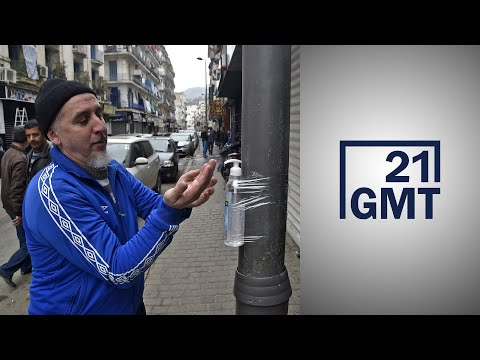 متطوعون جزائريون يصنعون مواد الوقاية من فيروس كورونا  - نشر قبل 2 ساعة