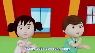 """Phim Hoạt Hình Cho Bé – Khôn Lớn Mỗi Ngày: Tập 93 """"Bé hãy vứt kẹo cao su vào thùng rác"""""""