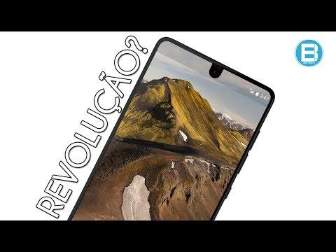 O smartphone de TITÂNIO! ESSENTIAL PHONE! Do criador do ANDROID, ele promete REVOLUCIONAR!