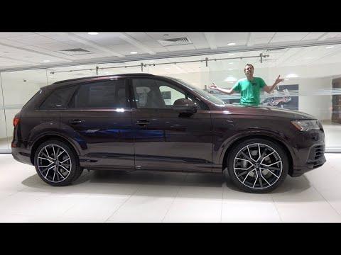 Audi Q7 2020 года обновлён, доработан и улучшен