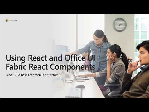 Using React and Office UI Fabric React Components - YouTube