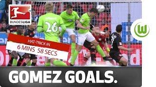 7-Minute Hat-Trick - Gomez Goalmania in Leverkusen