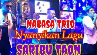 Nabasa Trio Nyanyikan lagu Saribu Taon. Mantap x bah gayss dgn suara emas mereka
