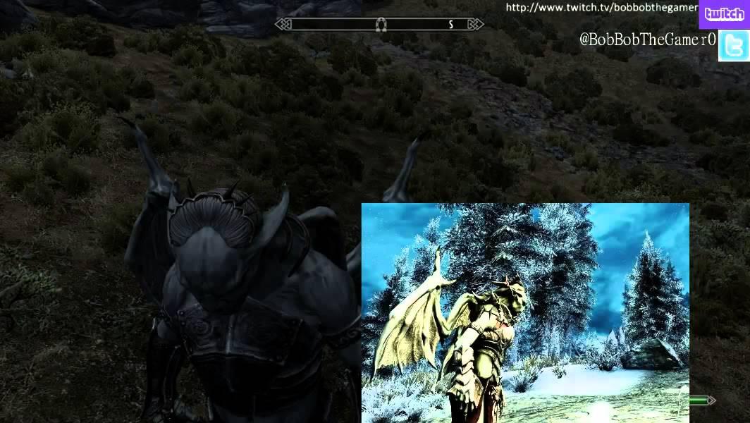 Skyrim Mod Showcase: Grimoas Vampire Lord - YouTube