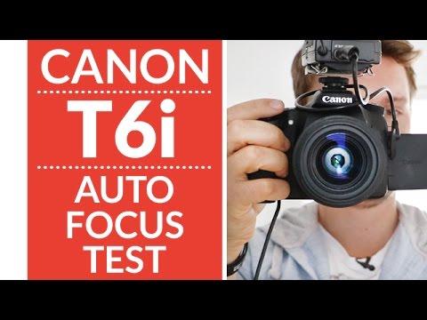 Canon T6i/T6s (750d/760d) Hybrid Autofocus Test Review