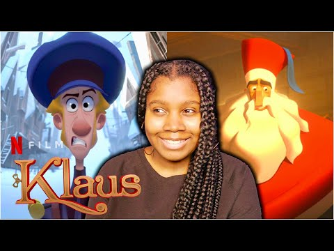*KLAUS* is the cutest story ever! (Movie Commentary and Reaction) //Watching Netflix's Klaus