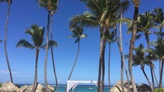 Dominican republic, Punta-Cana, Royalton, Parachute experience...