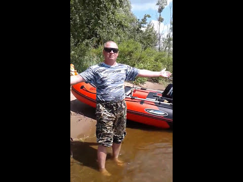 Первое знакомство с лодкой GLADIATOR E330 НДНД