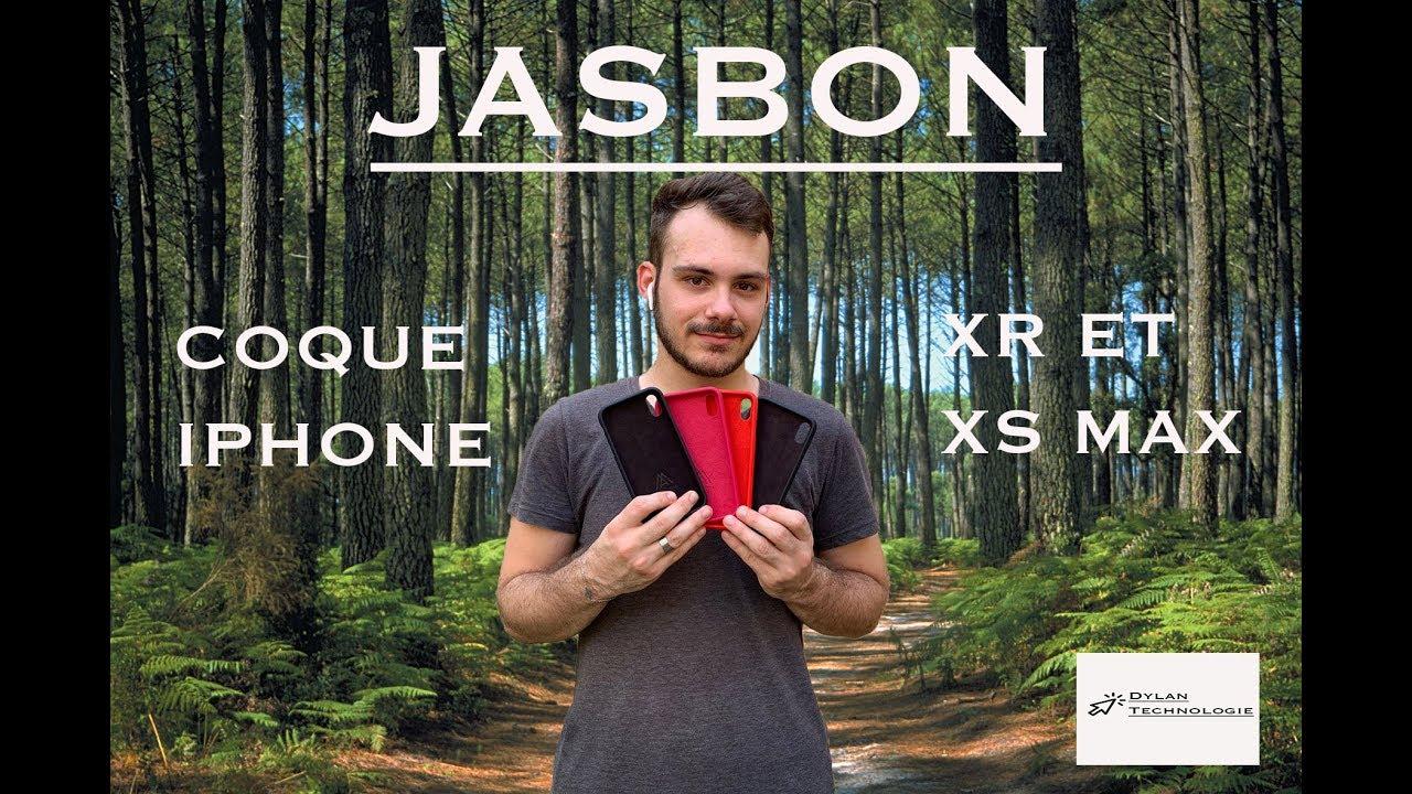 coque jasbon iphone xr
