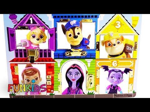 Vampirina Locked Jail Doll House with Paw Patrol Surprises