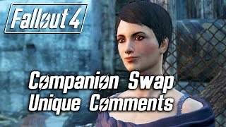 Fallout 4 - Companion Swap Unique Comments (Curie)