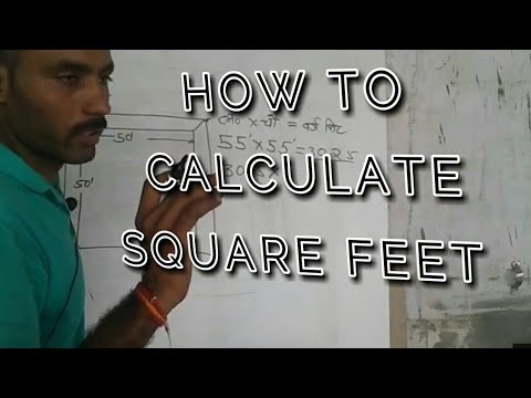 how to calculate square feet areaBY ELECTRICAL MIND