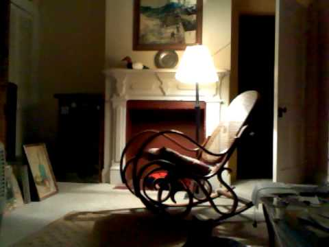 Ghost Enters Room And Sits In Rocking Chair Freaky