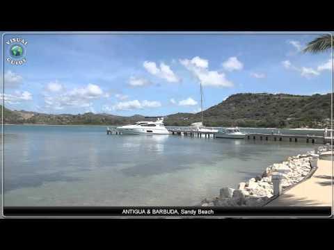 Antigua and Barbuda Sandy Beach
