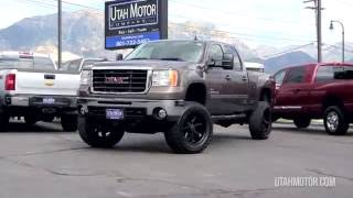 2007 GMC Sierra 2500HD SLT Brown Lifted Black Wheel Duramax - Utah Motor Company,LLC (801)722-5482
