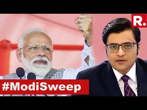 Modi Wave 2.0 Sweeps India In The Lok Sabha Elections 2019 | The Debate With Arnab Goswami