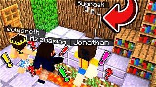 HİLE AÇIP İZLEYİCİLERİMİZİ TROLLEDİK - Minecraft BugraaK Görevleri