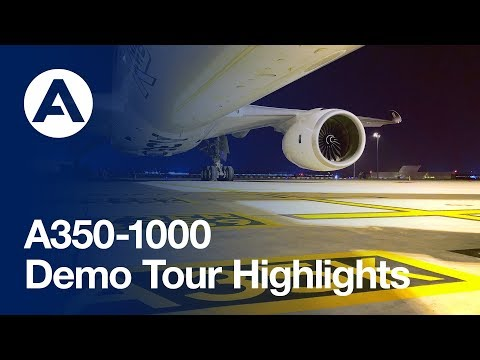 Highlights: A350-1000 demo tour