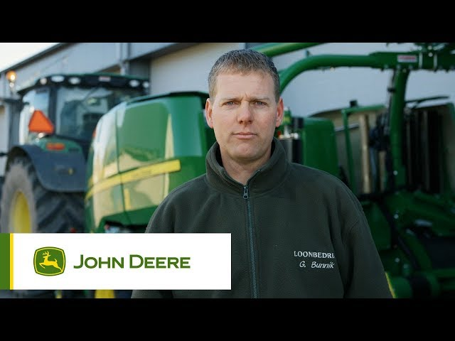 John Deere - Testimonianza Rotopressa C441R - René Bunnik, Olanda