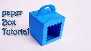 Creative Paper Art | How to Make paper Box Tutorial | Template