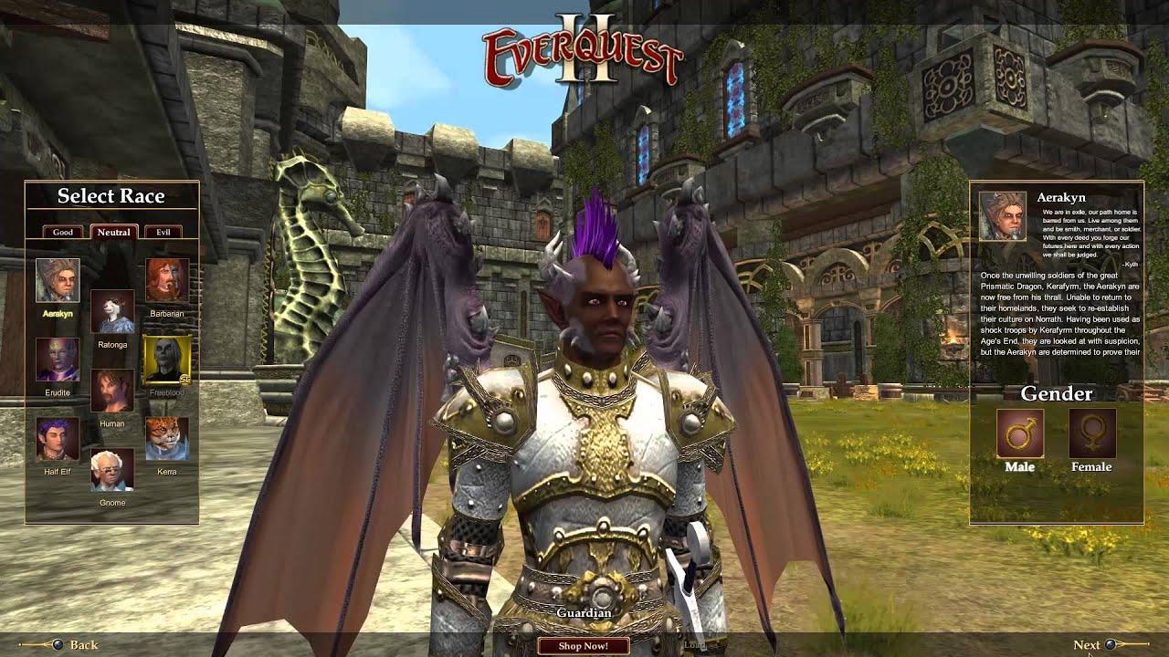 Aerakyn Customization - RL Plays: EverQuest II Episode 1