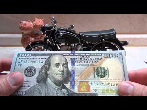 Как выглядит новый доллар 100 фото