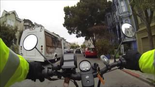 Urban E-Bike Ride San Francisco West to East [HD]