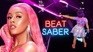 Doja Cat - Say So in BEAT SABER [Mixed Reality]