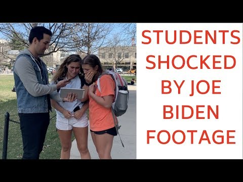 Michael Berry - Students Shocked By Footage Of Joe Biden Touching Women