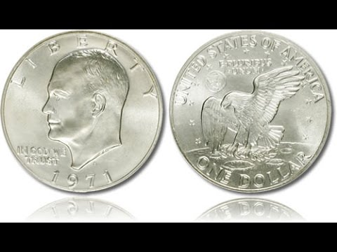 "Eisenhower Dollar Coins ""Ikes"" Contain 40% Pure Silver...But Which Ones?!?!?"