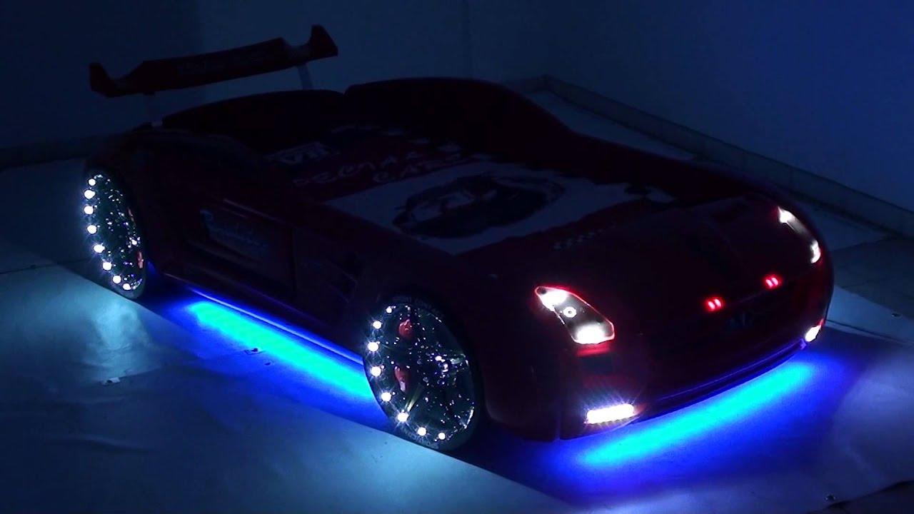 kinder autobett roadster silber youtube. Black Bedroom Furniture Sets. Home Design Ideas