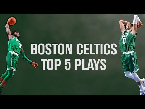 Boston Celtics Top 5 Plays of the 2018 London Game