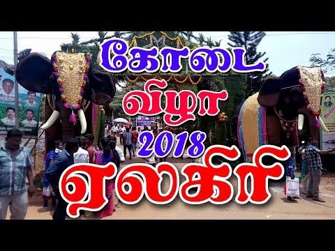 ஏலகிரி கோடை விழா 2018 I  Yelagiri kodai vizha 2018  I  Village database