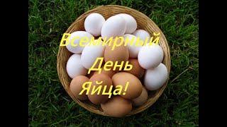 Всемирный День Яйца (World Egg Day). Музыкально-Познавательное Видео. Вторая Пятница Октября.