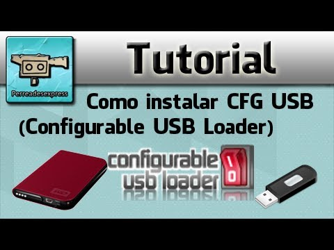 Como instalar CFG USB (Configurable USB Loader)