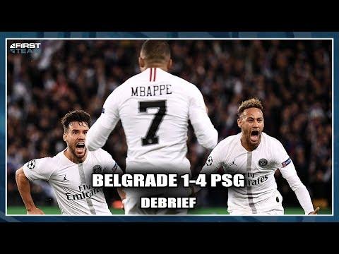 BELGRADE 1-4 PSG (Débrief) avec Nicolas Maurice-Belay