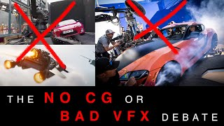 The 'no CG' or 'bad VFX' narrative in behind the scenes - VFX Notes Podcast Clip 📎