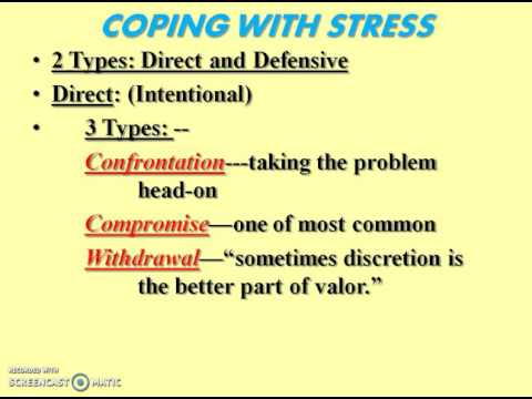 Stress and Health 2 (Conflict to Oxytocin) (14:55)