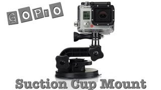 GoPro Hero 3 Suction Cup - обзор
