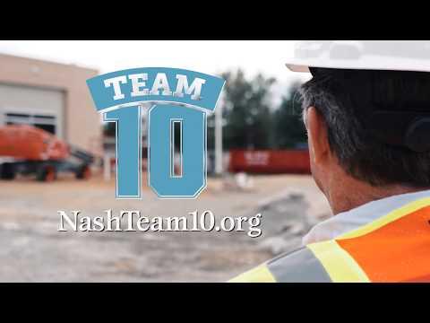 Nash Team 10 - Danny Talbott Cancer Center
