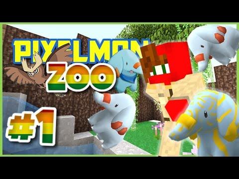 Pixelmon Zoo ► Minecraft Pixelmon 4.0.7 Roleplay Episode 1 ► NEW ZOOKEEPER IN TOWN!