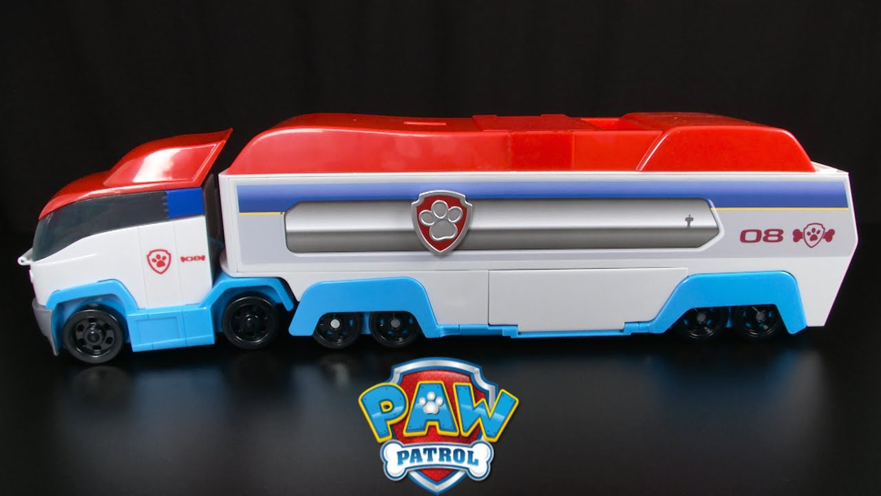 paw patrol paw patroller from spin master youtube. Black Bedroom Furniture Sets. Home Design Ideas