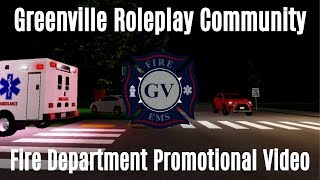 Greenville RP Community Fire/EMS Promotional
