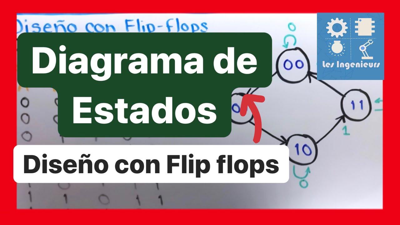 Diagrama De Estados Y Dise U00f1o Con Flip Flops